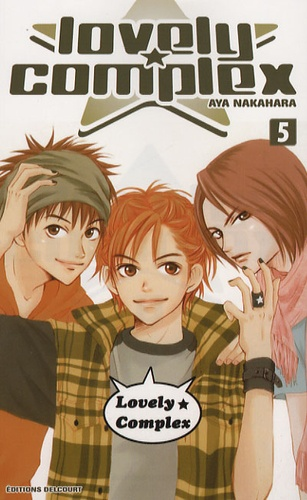 Aya Nakahara - Lovely Complex Tome 5 : .
