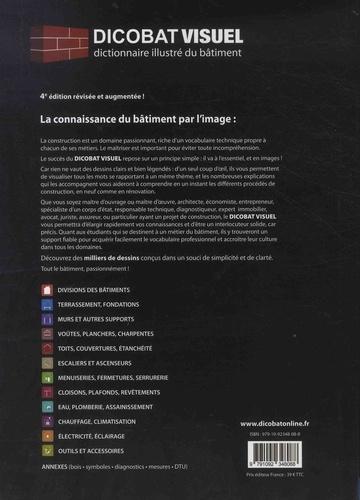 Dicobat visuel. Dictionnaire illustré du bâtiment 4e édition revue et augmentée