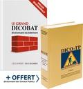 Aymeric de Vigan et Jean de Vigan - Le grand Dicobat + Dico-TP - 2 volumes.