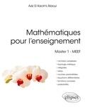 Aziz El Kacimi Alaoui - Mathématiques pour l'enseignement - Master 1, MEEF.