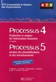 B Abrioux et J-C Bonnet - Processus 4 : Production et analyse de l'information financière ; Processus 5 : Gestion des immobilisations et des investissements - BTS Comptabilité et Gestion des Organisations.