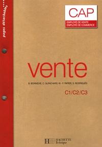 B. Bonnevie et Christelle Guinchard - Vente CAP employé de vente/employé de commerce.