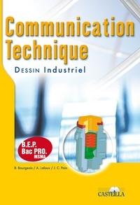B Bourgeois et A Laloux - Communication technique, Dessin industriel.