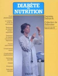 B Damiens-Delloye - DIABETE ET NUTRITION. - Tome 8.
