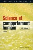 B-F Skinner - Science et comportement humain.