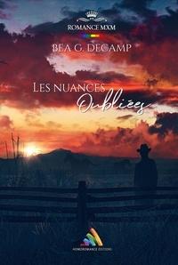 B.G. Decamp et Homoromance Éditions - Les Nuances oubliées - Roman gay.