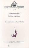 B Hadj-Ali - Bachir Hadj-Ali - Poétique et politique.