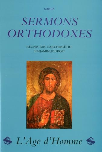 B. Joukoff - Sermons orthodoxes.