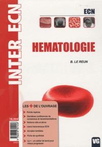 B. Le Reun - Hematologie.