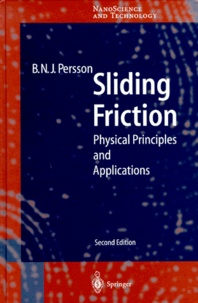 B-N-J Persson - Sliding Friction. - Physical Principles and Applications, 2nd edition.