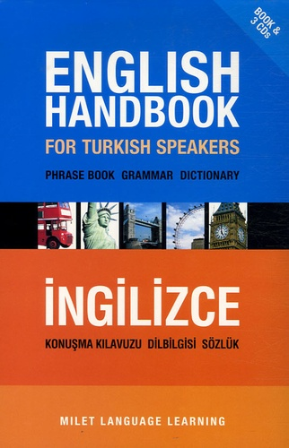 B Orhan Dogan - English handbook for Turkish speakers - Phrase book Grammar Dictionnary. 3 CD audio