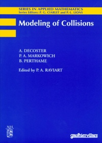 B Perthame et A Decoster - Modeling of collisions.