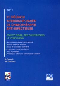 21ème réunion interdisciplinaire de chimiothérapie anti-infectieuse. Compte-rendu des conférences et symposiums RICAI 2001.pdf