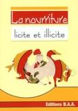 Baa Editions - La nourriture (licite et illicite).