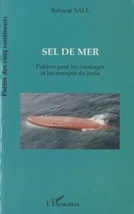 Babacar Sall - Sel de mer - Poèmes pour les naufragés et les rescapés du Joola.
