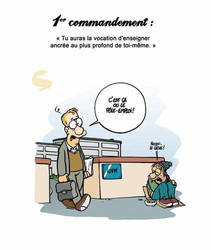 Les 40 commandements Tome 1 Les 40 commandements de l'enseignant