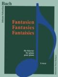 Bach - Bach - Fantaisies - Pour piano - Partition.
