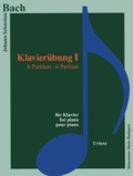 Bach - Bach - klavierubung I - exercices pour piano - 6 partitas - Partition.