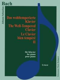Bach - le clavier bien tempéré II - Pour piano - Partition.pdf