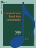 Bach - Bach - Suites françaises - Pour piano - Partition.