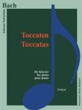 Bach - Bach - Toccatas - Pour piano - Partition.