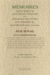 Galabria.be Mémoires secrets ou Journal d'un observateur - Tome 26, 18 mai-12 novembre 1784 Image