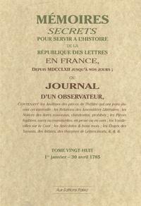 Histoiresdenlire.be Mémoires secrets ou Journal d'un observateur - Tome 28 Image