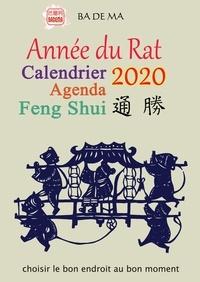 Badema (Editions) - Calendrier Agenda Feng Shui - Année du Rat.