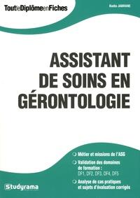 Badia Jabrane - Assistant de soins en gérontologie (ASG).