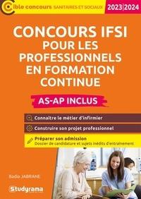 Badia Jabrane - Concours IFSI pour professionnels en formation continue AS-AP inclus.