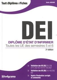 Badia Jabrane - Diplôme d'Etat d'infirmier - Toutes les UE des semestres 5 et 6.
