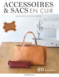 BAG ARTIST SCHOOL REPRE - Accessoires & sacs en cuir - Couture machine.