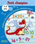 Ballon - Additions, soustractions, divisions, multiplications 7-9 ans.