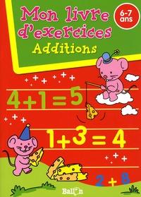 Ballon - Additions - Mon livre d'exercices 6-7 ans.
