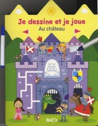 Ballon - Au château - Avec un feutre.
