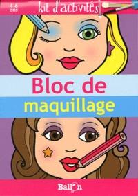 Bloc de maquillage- Kit d'activités -  Ballon | Showmesound.org