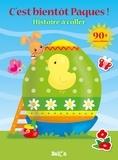 Ballon - C'est bientôt Pâques ! - Avec plus de 90 autocollants.