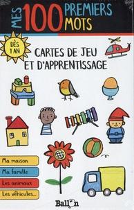 Ballon - Cartes de jeu et d'apprentissage - Mes 100 premiers mots.