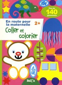 Ballon - Coller et colorier 2+ - Plus de 140 gommettes.