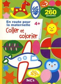 Ballon - Coller et colorier 4+ - Plus de 260 gommettes.