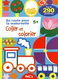 Ballon - Coller et colorier 5+.
