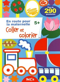 Ballon - Coller et colorier 5+.