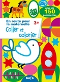 Ballon - Coller et colorier - Plus de 150 gommettes.