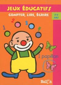 Ballon - Compter, lire, écrire - 5-6 ans.