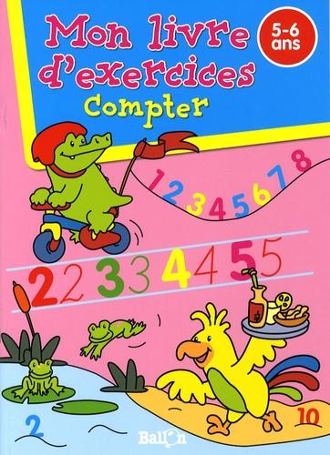 Ballon - Compter - Mon livre d'exercices 5-6 ans.