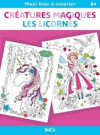 Ballon - Créatures magiques - Les licornes.