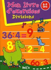 Ballon - Divisions - Mon livre d'exercices 8-9 ans.