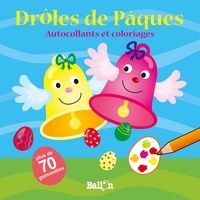 Ballon - Drôles de Pâques - Avec plus de 70 gommettes.
