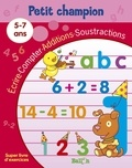 Ballon - Ecrire, compter, additions, soustractions 5-7 ans.
