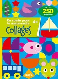 Ballon - En route pour la maternelle - Collages 4+.